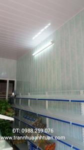 Ốp tường chống ẩm bản 18cm và trần chống nóng tại LK3 KĐT văn khê hà đông Hà Nội