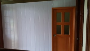 Vách ngăn phòng 2 mặt bản 18cm và cửa Ngõ 191 lac long quân , nghĩa đô , cầu giấy hn
