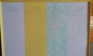 Tấm nhựa bản cứng 25cm các màu