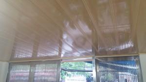 Công trình trần nhựa khổ 25cm