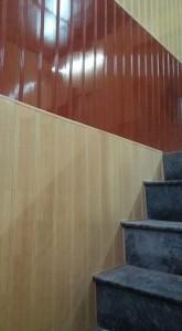ốp tường nhựa chân cầu thang