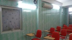 ốp tường nhựa phòng học