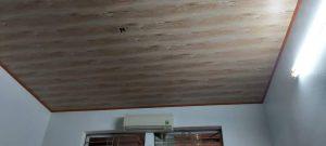trần nhựa vân gỗ